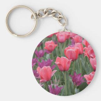 Field of Tulips Keychain
