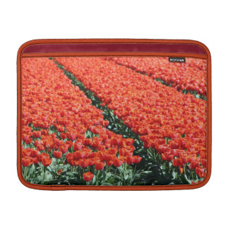 Field of tulips MacBook sleeve