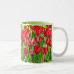 Field of tulips Mug