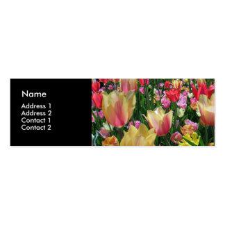 Field of Tulips Profile Card