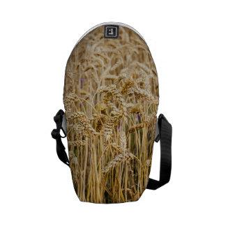 Field Of Wheat Golden Grains Messenger Bag