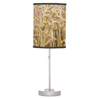 Field Of Wheat, Golden Grains Table Lamp