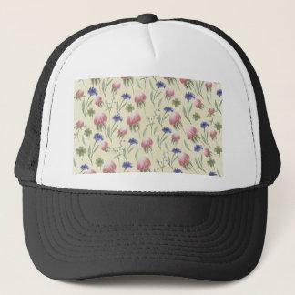 Field of wild flowers trucker hat