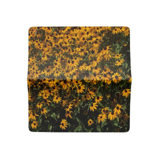 Field of Yellow Flowers Checkbook Cover