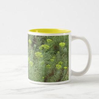 Field of Yellow flowers Coffee Mug