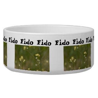 Field of Yellow Flowers; Customizable Bowl