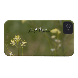 Field of Yellow Flowers; Customizable Case-Mate iPhone 4 Case