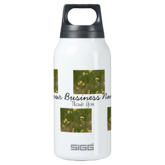 Field of Yellow Flowers; Promotional Insulated Water Bottle