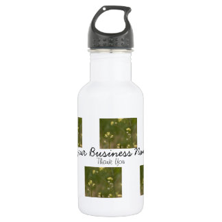 Field of Yellow Flowers; Promotional Stainless Steel Water Bottle