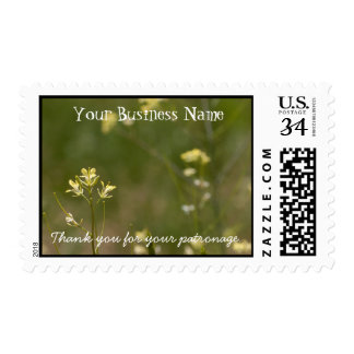 Field of Yellow Flowers; Promotional Stamp