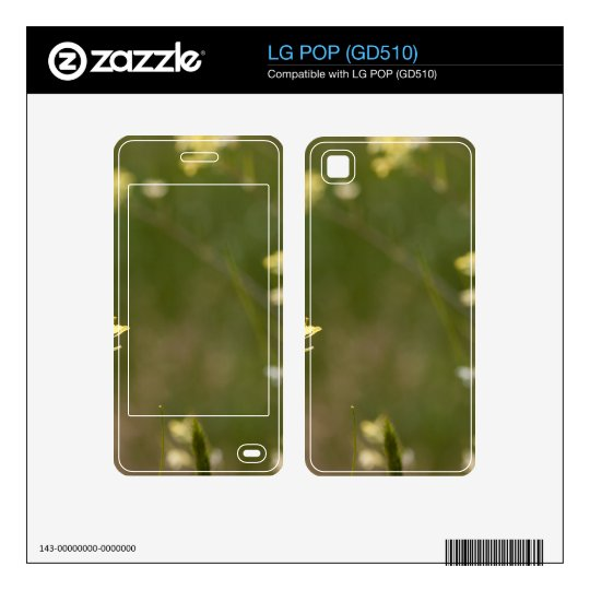 Field of Yellow Flowers Skin For LG POP