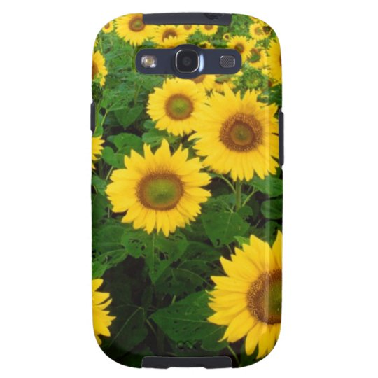 Field of Yellow Sunflowers Samsung Galaxy S3 Cover