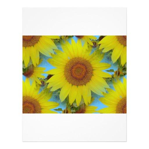 Field off sunflower - Field of sunflower (02) Personalized Flyer