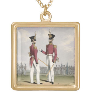 Field Officers of the Royal Marines, plate 2 from Jewelry