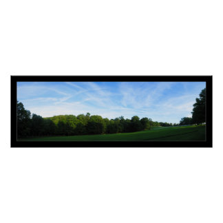Field Panorama Poster