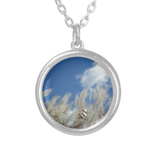Field Photo Gift Silver Plated Necklace