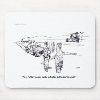 Field Sobriety Test Mousepad