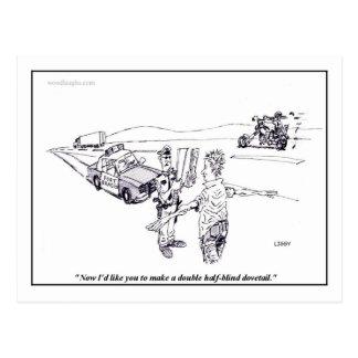 Field Sobriety Test Postcard
