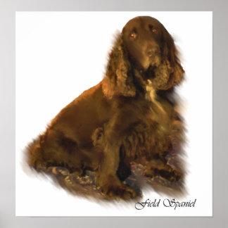 Field Spaniel Art Prints