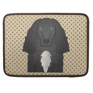Field Spaniel Cartoon Sleeve For MacBooks