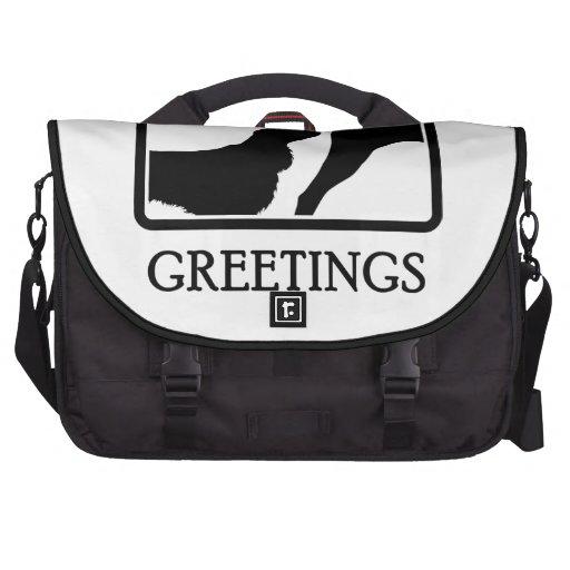 Field Spaniel Laptop Bags