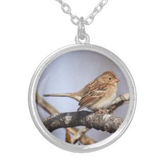 Field Sparrow Necklaces