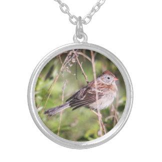 Field Sparrow Pendants