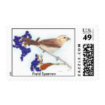 Field Sparrow Postage Stamps