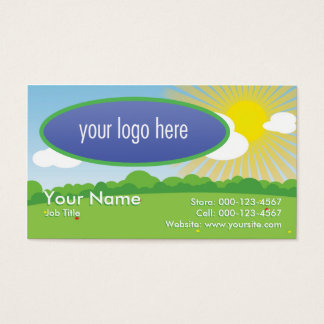 Field & Sunshine Business Card