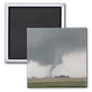 Field Tornado 2 Inch Square Magnet