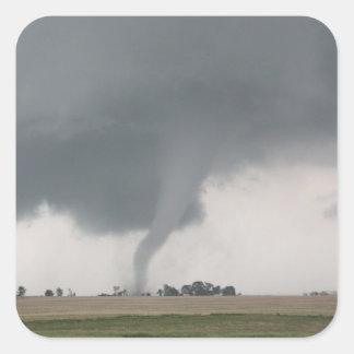 Field Tornado Square Sticker