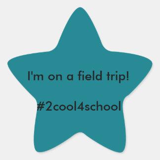 Field Trip Identifier Sticker for Homeschool