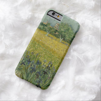 Field with flowers near Arles by Vincent Van Gogh Barely There iPhone 6 Case