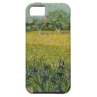 Field with flowers near Arles by Vincent Van Gogh iPhone 5 Cases