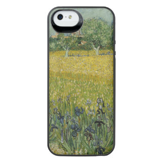 Field with flowers near Arles by Vincent Van Gogh Uncommon Power Gallery™ iPhone 5 Battery Case