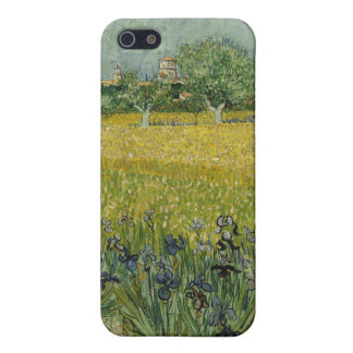Field with flowers near Arles by Vincent Van Gogh Covers For iPhone 5