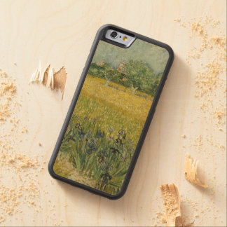 Field with flowers near Arles by Vincent Van Gogh Carved® Maple iPhone 6 Bumper