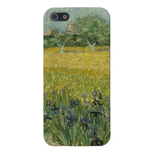 Field with flowers near Arles Cover For iPhone 5