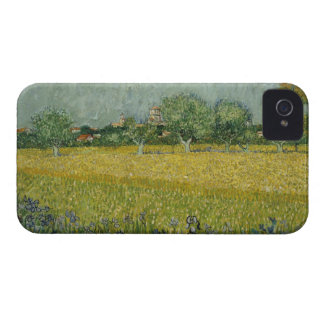 Field with flowers near Arles iPhone 4 Case-Mate Case