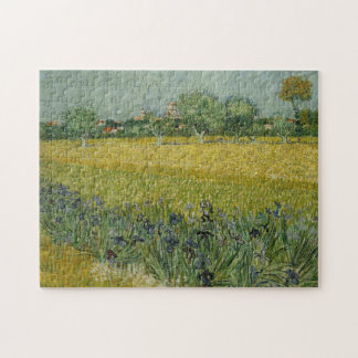 Field with flowers near Arles Puzzle