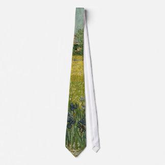 Field with Flowers near Arles, Vincent Van Gogh Neck Tie