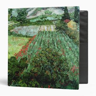 Field with Poppies, 1889 Vinyl Binder