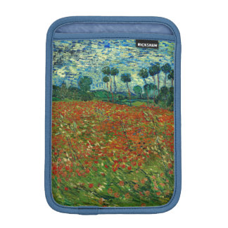 Field with Poppies by Van Gogh Fine Art Sleeve For iPad Mini