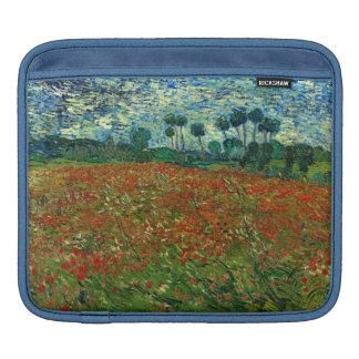 Field with Poppies by Van Gogh Fine Art iPad Sleeves