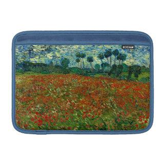 Field with Poppies by Van Gogh Fine Art MacBook Sleeve