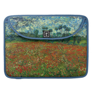 Field with Poppies by Van Gogh Fine Art Sleeve For MacBook Pro