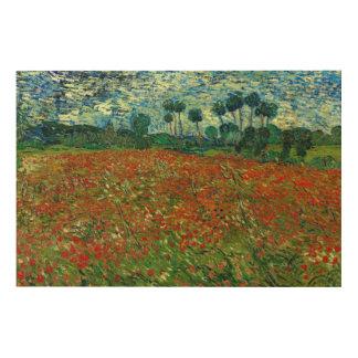 Field with Poppies by Van Gogh XL Fine Art