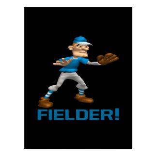 Fielder Postcard