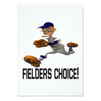 Fielders Choice Card