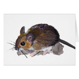 Fieldmouse Greeting Cards